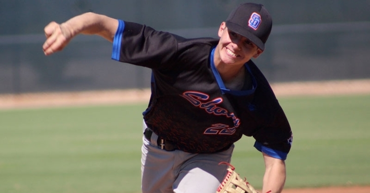 Victor Lizarraga is a talented pitcher from Tijuana (Photo credit: Perfect Game)