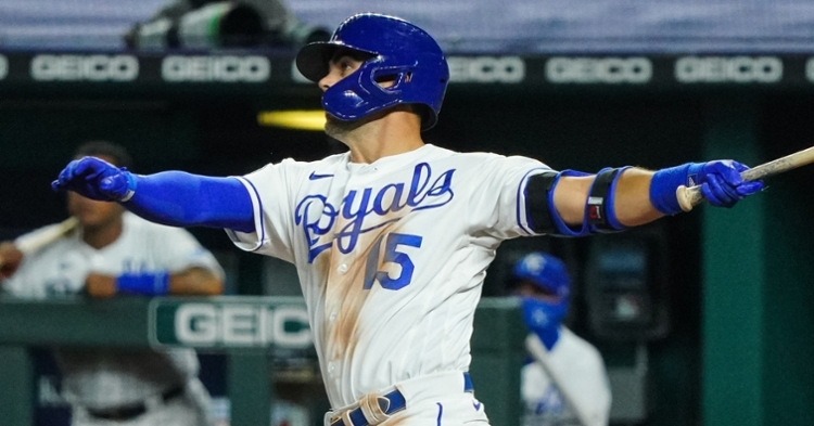 Merrifield is a versatile player that can play OF/2B (Jay Biggerstaff - USA Today Sports)