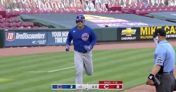 Going yard on Saturday afternoon for the second game in a row, Anthony Rizzo now has seven home runs on the season.