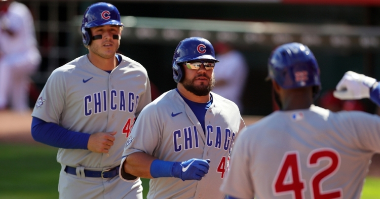 The Cubs were hot offensively in Cincy (Jim Owens - USA Today Sports)