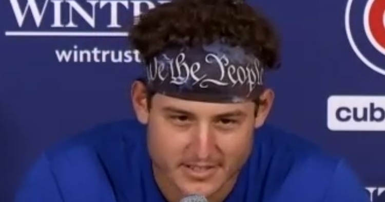 Anthony Rizzo spoke to the media on Friday