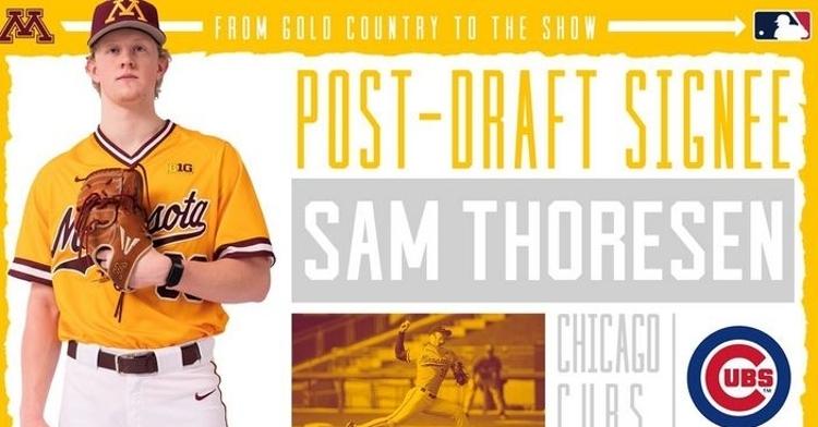 Thoresen has some decent potential (Photo credit: Minnesota Baseball)