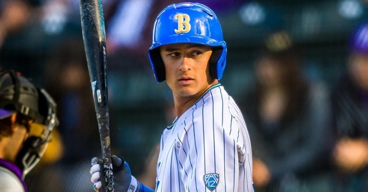 Strumpf was a standout in college (Credit: UCLA Athletics)