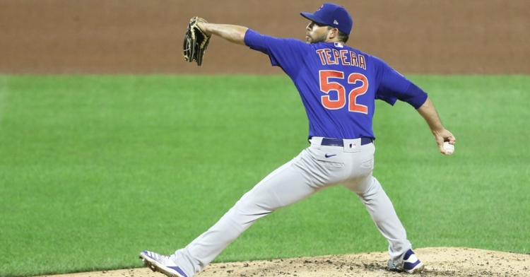 Tepera was exceptional for the Cubs (Charles LeClaire - USA Today Sports)