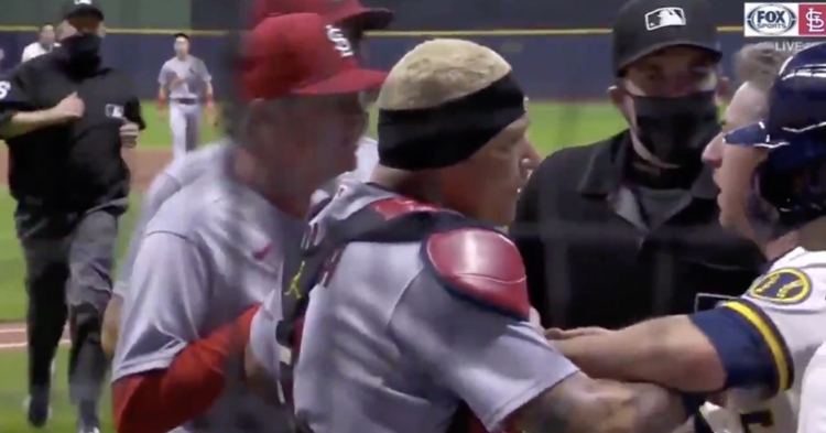 Shildt and Molina were pretty angry against the Brewers