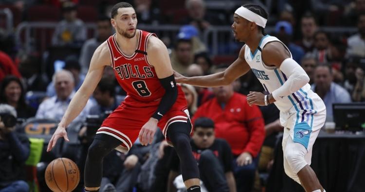 Bulls lost again last night despite LaVine's 19 points (Kamil Krzaczynski - USA Today Sports)