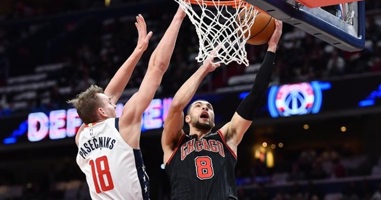 WATCH: Zach LaVine's 41-point performance vs. Wizards