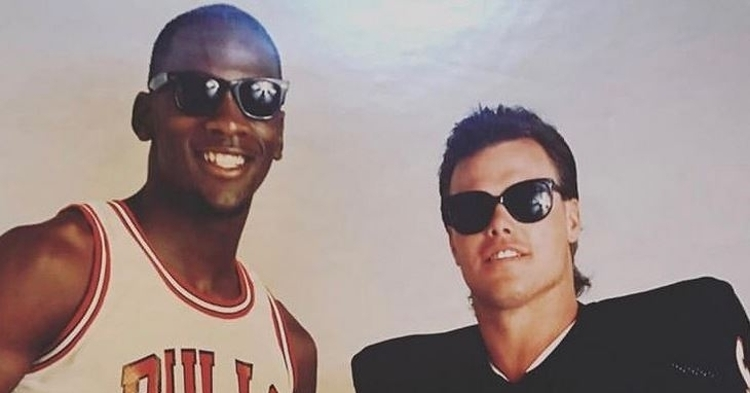 Jordan and McMahon loved to play golf together