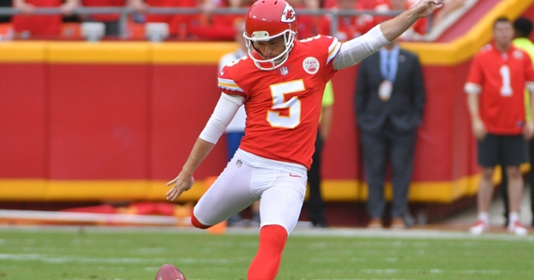 Veteran kicker Cairo Santos is reportedly joining the Chicago Bears for the second time in his career. (Credit: Danny Medley-USA TODAY Sports)