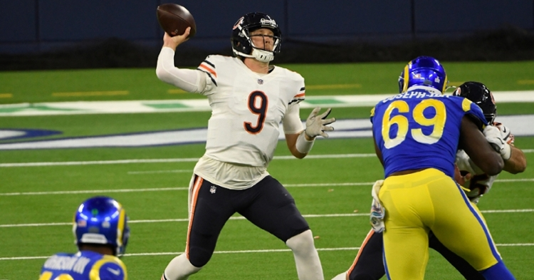 Foles was constantly under pressure against the Rams (Robert Hanashiro - USA Today Sports)