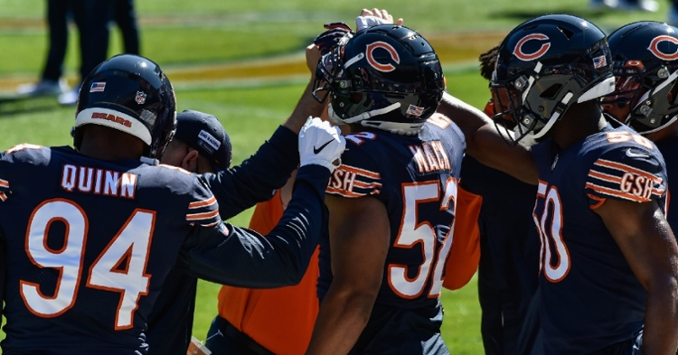 Khalil Mack is active for today's game (Jeffrey Becker - USA Today Sports)