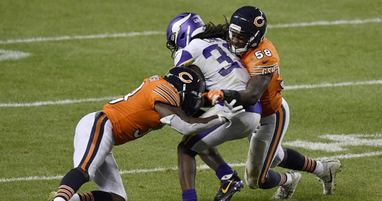 Smith is a key player on the Bears' defense (Quinn Harris - USA Today Sports)