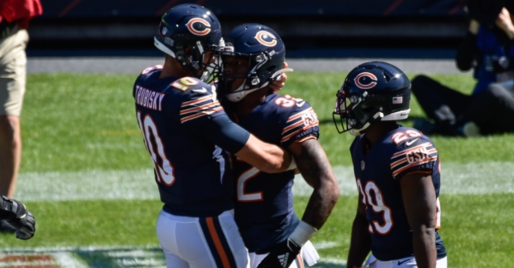 Trubisky and Monty are playing well of late (Jeffrey Becker - USA Today Sports)