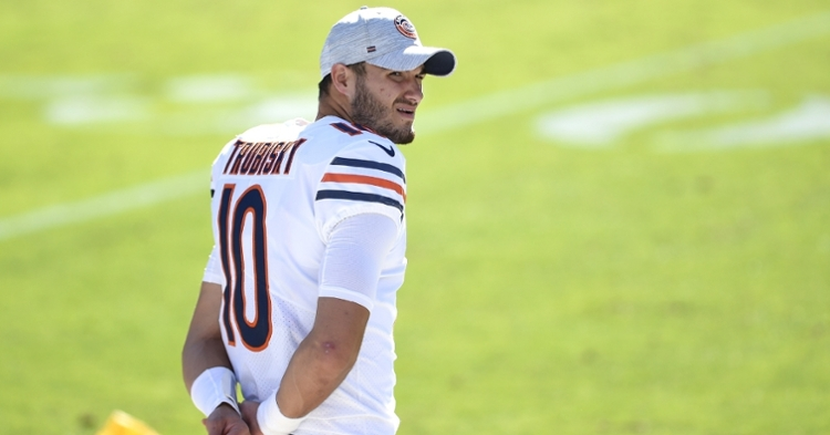 Trubisky will get the start against the Lions (Bob Donnan - USA Today Sports)