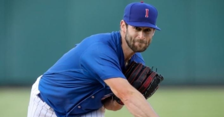 Abbott was called up today to get the start (Photo via Iowa Cubs)