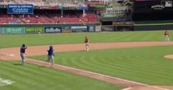 WATCH: Sergio Alcantara slugs leadoff jack, Cubs' third homer of game