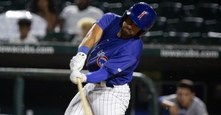 Rivas has been impressive with the Cubs (Photo via Iowa Cubs)