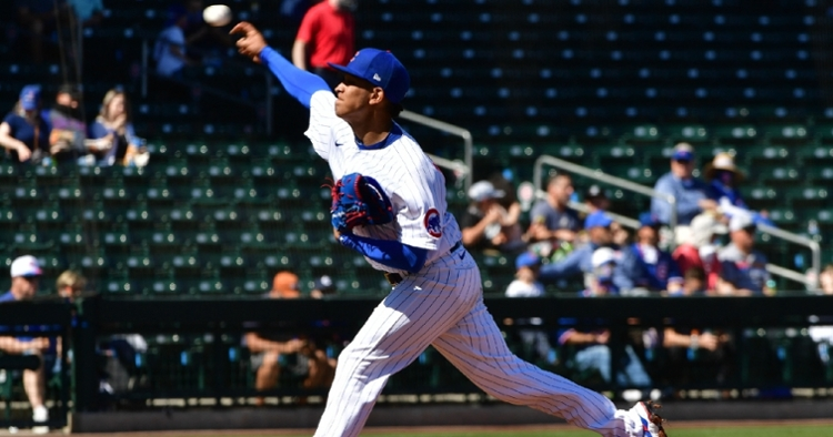 Adbert Alzolay had a solid outing on Tuesday (Matt Kartozian - USA Today Sports)