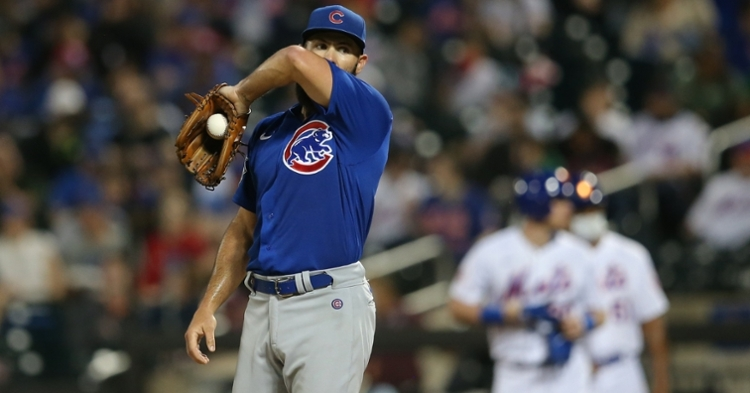 Arrieta  had another tough outing (Brad Penner - USA Today Sports)