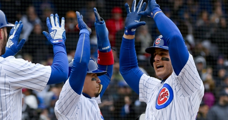 No Rizzo or Bryant in the lineup this afternoon (Matt Marton - USA Today Sports)