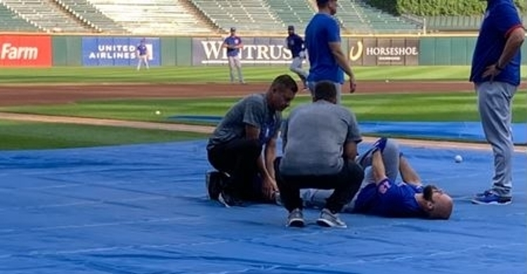 Bote lands on the 10-day IL after his ankle injury (Photo via the Athletic)