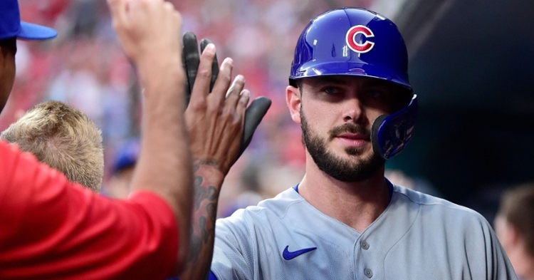 Kris Bryant disagreed with Jed Hoyer's narrative regarding Bryant's contract talks with the Cubs' front office. (Credit: Jeff Curry-USA TODAY Sports)