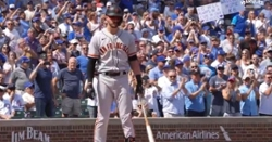 WATCH: Kris Bryant gets loud standing ovation at Wrigley FIeld