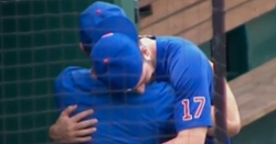 WATCH: Kris Bryant sheds a few tears after hearing he was traded