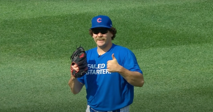 """He may be a """"failed starter,"""" but Cubs reliever Andrew Chafin has succeeded in becoming a fan favorite at the Friendly Confines."""