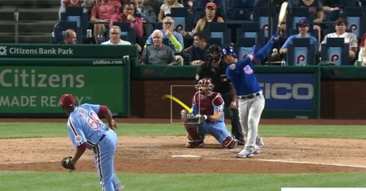 WATCH: Willson Contreras crushes his 19th homer of season
