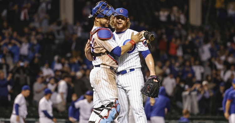 Cubs are currently tied for first place (Kamil Krzaczynski - USA Today Sports)