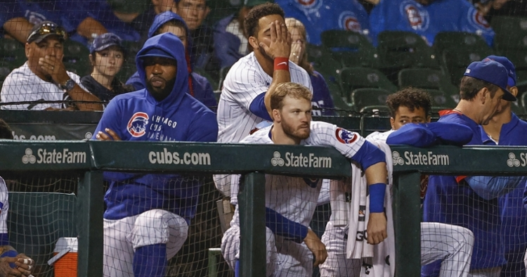 The Cubs are now in fourth place (Kamil Krzaczynski - USA Today Sports)