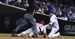 Cubs fail to score until ninth inning, fall to Reds
