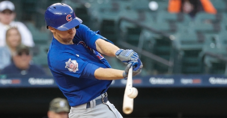 Matt Duffy is a versatile veteran for the Cubs (Rick Osentoski - USA Today Sports)