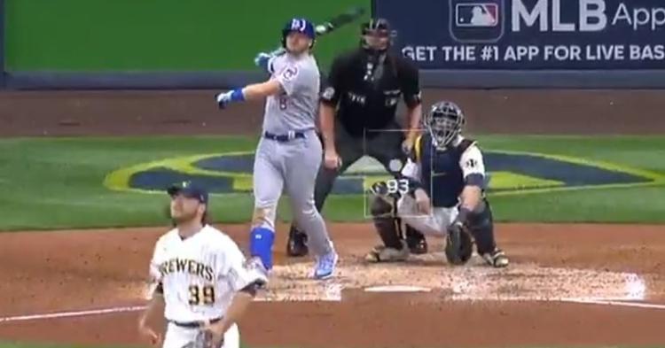 WATCH: Ian Happ crushes two-run bomb vs. Brewers