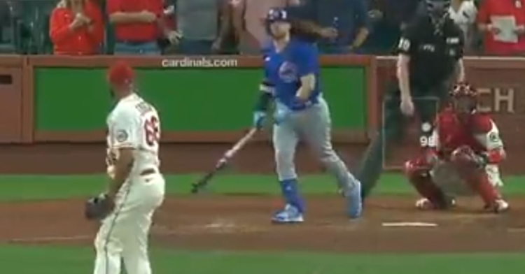 WATCH: Ian Happ crushes go-ahead homer with two outs in ninth vs. Cardinals