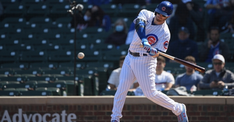 Ian Happ is batting cleanup for today's game (Quinn Harris - USA Today Sports)