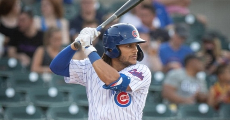 Hermosillo led his team to the victory (Photo courtesy: Iowa Cubs)