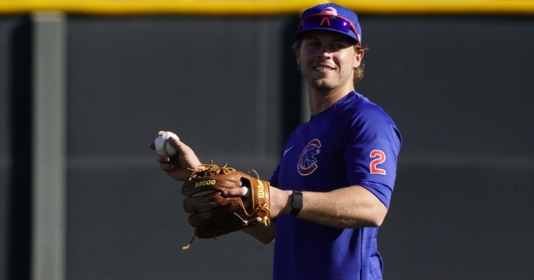 Nico Hoerner will get the start at shortstop tonight (Rick Scuteri - USA Today Sports)