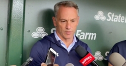 Jed Hoyer discusses trade deadline plans with media