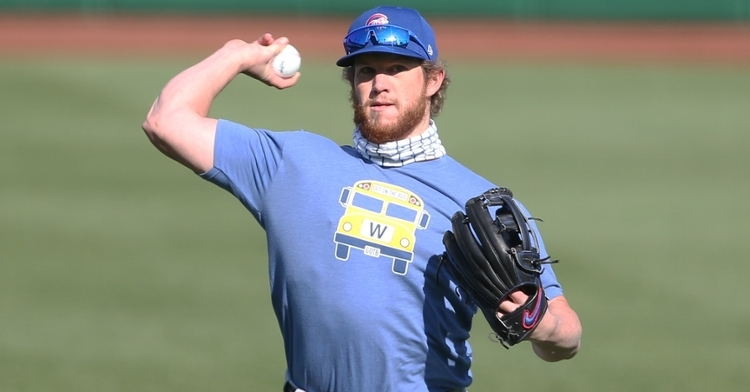 Kimbrel is a vital bullpen member of the Cubs (Charles LeClaire - USA Today Sports)