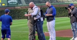 WATCH: Jon Lester gives Rolexes to his former Cubs catchers David Ross and Willson Contreras