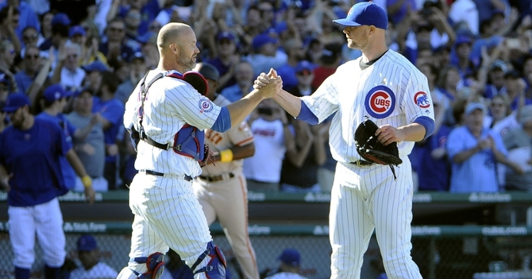 Lester and Ross had some great baseball moments together (David Banks - USA Today Sports)