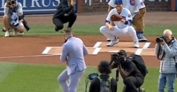 WATCH: UFC's Conor McGregor throws out worst first pitch ever at Wrigley