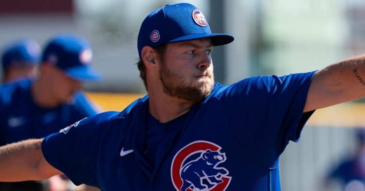 Megill is an intriguing option for the Cubs (Allan Henry - USA Today Sports)