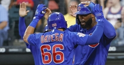 Cubs club three homers in shutout of White Sox