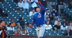 Joc Pederson homers into McCovey Cove, but Cubs fall to Giants