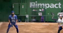 WATCH: Cubs play pickleball in bullpen