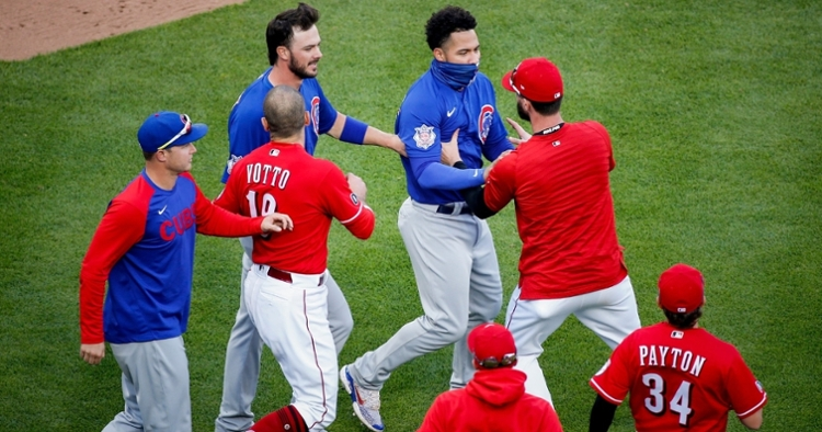Cubs and Reds have played in some emotional games (Meg Vogel - USA Today Sports)