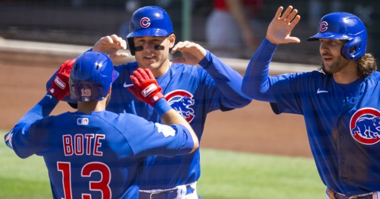 The Cubs hope to play well against the Dodgers (Mark Rebilas - USA Today Sports)